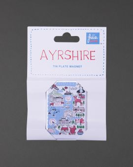 Ayrshire Collection Tin Magnet
