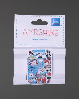Ayrshire Collection Canvas Magnet