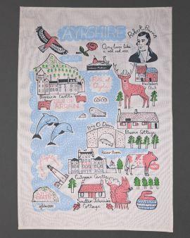Ayrshire Collection Tea Towel
