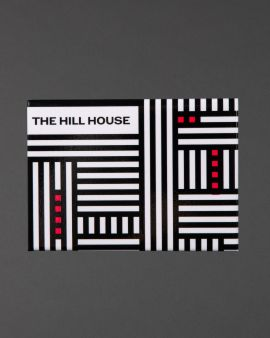 The magnet inspired by The Hill House which says 'The Hill House' in the top left-hand corner.