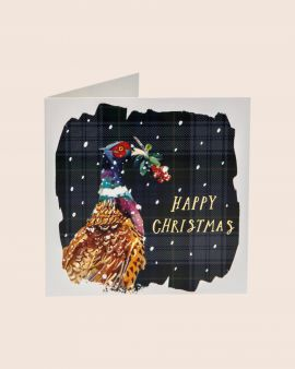 Pack of 10 Christmas Cards with Pheasant Design