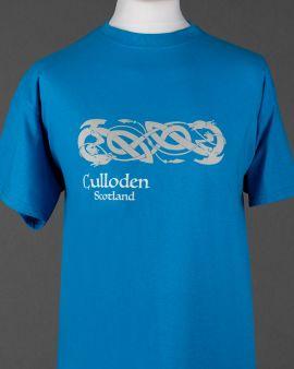 Celtic Dragon Culloden T Shirt Large