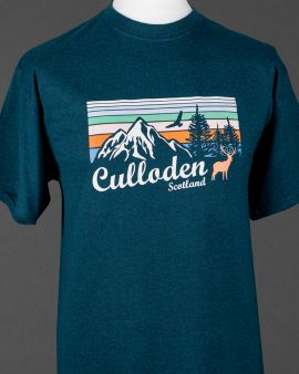 Mountains and Wildlife Culloden T Shirt XX-Large
