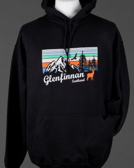Black Mountains and Wildlife Glenfinnan Hooded Sweatshirt XX-Large