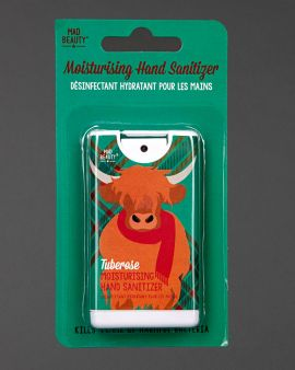 highland cow tuberose moisturising hand sanitizer
