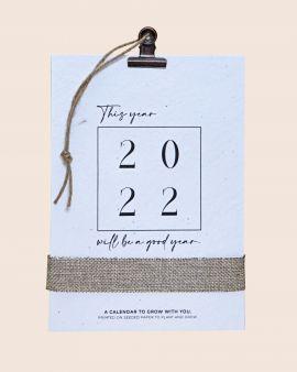 Seed Paper 2022 Calendar