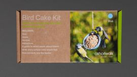 The box of the Recycled Bird Cake Kit.