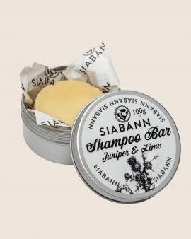 Siabann Juniper & Lime Shampoo Bar 100g