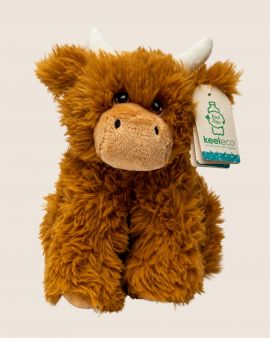 100% Recycled Highland Cow Soft Toy