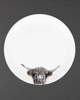 coo too fine bone china plate