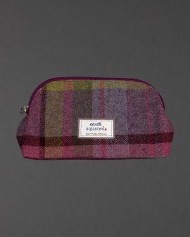 Thistle Tweed Makeup Bag
