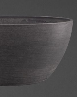 The Large Grey Oval Recycled Plant Pot.