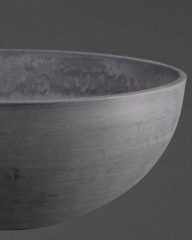 The medium grey oval recycled pot plant.