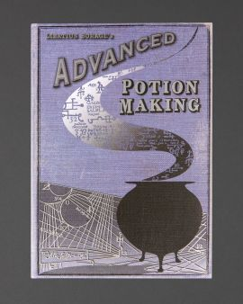 The front cover of the hardback journal: 'Advanced Potion Making II'.