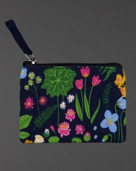 front of flowers & gardens coin purse